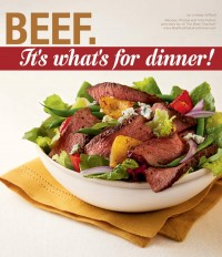 Beef. It's What's for Dinner!