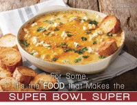 For Some, It's the Food that Makes the Super Bowl Super