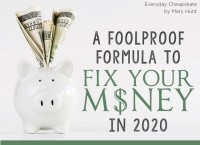 A Foolproof Formula to Fix Your Money in 2020