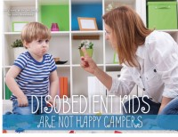 Disobedient Kids Are Not Happy Campers