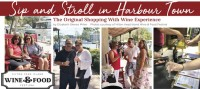 Sip & Stroll in Harbour Town