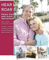 Karen Goulden and Scott Hanselman